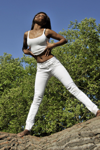 Sharon Ocansey Model Shoot at Kenwood House - Photographer Xav Rodriguez